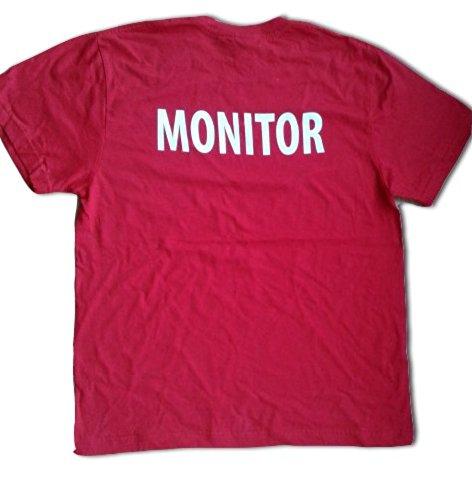 TUCUMAN AVENTURA - T-shirt Monitor., rouge, XL