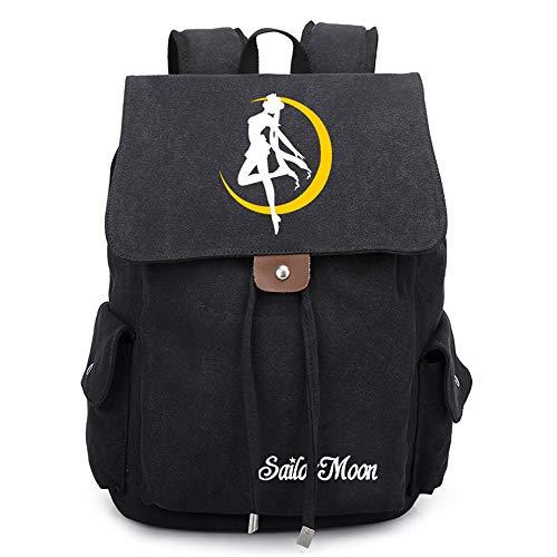 Anime Rucksack Sailor Moon Cosplay Jungen Mädchen Outdoor Rucksäcke Reise Rucksack Anime Daypack Schulter Schultasche Laptop Tasche
