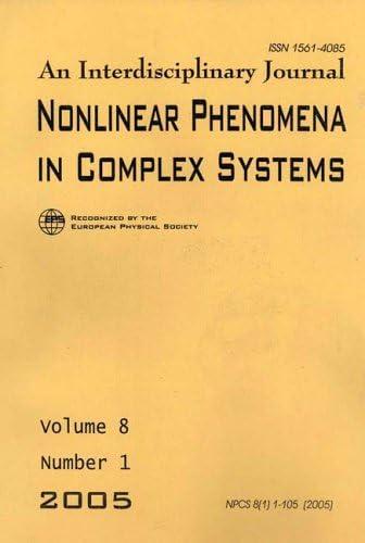 Max 76% OFF Nonlinear Phenomena Very popular in Magazine Complex Systems    Print