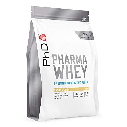 PhD Pharma Whey Protein Powder, Vanilla Crème, 1 kg
