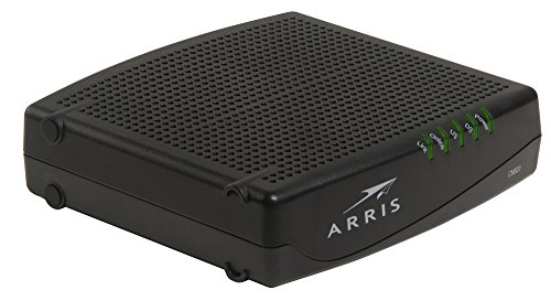 ARRIS CM820A Cable Modem DOCSIS 3.0 (Latest Version - 1 Step Activation)