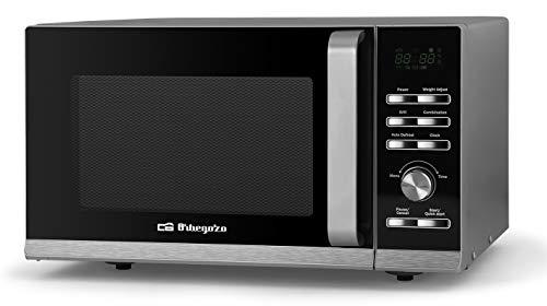 Orbegozo MIG 2043 - Microondas con grill, 36 menús de cocción, temporizador, 6 niveles de potencia, 20 L, 700 W microondas, 900 W grill