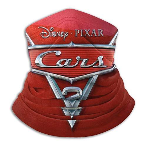 Custom made Pixar Cars 2 2011 - Polaina para el cuello de microfibra multifuncional a prueba de polvo, pasamontañas, calentador de cuello, bufanda para clima frío y deportes al aire libre