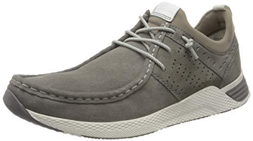 Sioux Herren Grash-H201-47 Sneaker, Grau (Piombo 002), 46 EU