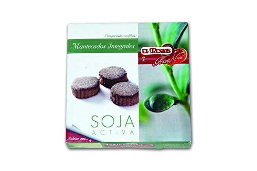Mantecados integrales con soja. Origen: Estepa. 350 gr.