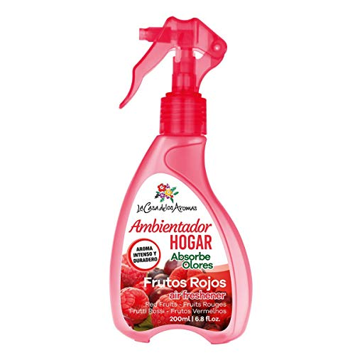 lacasadelosaromas Ambientador Spray Frutos Rojos 200ml