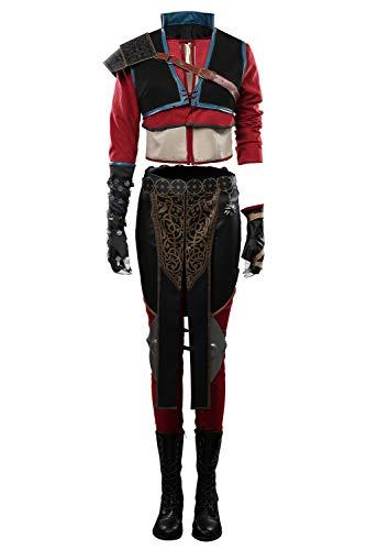 Lixinya Disfraz de Hexer 3 Ciri para Halloween, Carnival, Cosplay, disfraz para mujer, S