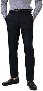 INCOTEX 30型 SLIM FIT SUPER100'S ウール ハウンドトゥース柄 スラックス