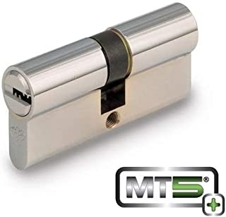 Mul-t-lock MT5+ Euro Profile Double Cylinder - Bright Brass(33 x 33mm)