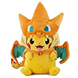 Pokemon Plush Pikachu Smile Charizard Doll Stuffed Animals Figure Soft Anime Collection Toy Jouet Peluche de 25 cm 1 Peluche