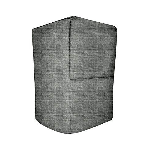 HANSHI Ständer Mixer Abdeckung mit Organizer Tasche, Schutzhülle für Standmix, Saftpresse, Kaffeemaschine, Küchenmaschine Staubschutz für Hausfrau und Mutter 14x9x14 inches grau