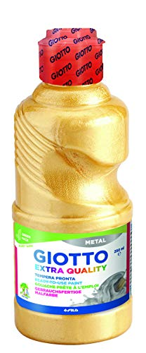 GIOTTO 10293 Gouache acrylique Coloris Or Métallisé 250ml