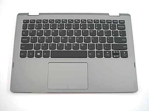 Piezas genuinas para Lenovo ideapad Yoga 330-11IGM Palmrest US Teclado Bisel Gris 5CB0Q81387