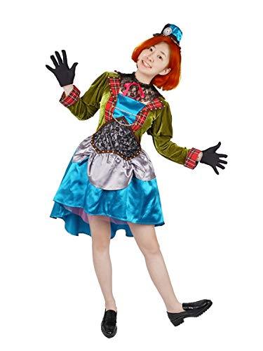 CoolChange Disfraz para Mujeres del Sombrerero de Alicia en el pas de Las Maravillas | Vestido de Sombrerero | Talla: S