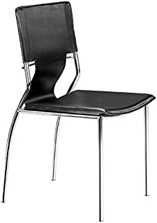 Zuo Trafico Dining Chair (Set of 4), Black