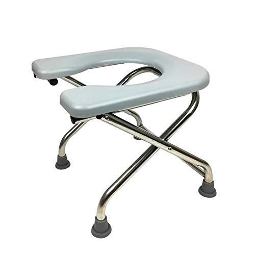 JIEER-C Ergonomische stoel inklapbare toiletstoel oude toilet voor zwangere vrouwen draagbare patiënt mobiel toilet kruk commode toiletkruk 35cm