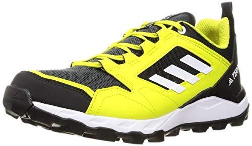 adidas Terrex Agravic TR, Zapatillas de Trail Running Hombre, AMAACI/FTWBLA/NEGBÁS, 44 EU