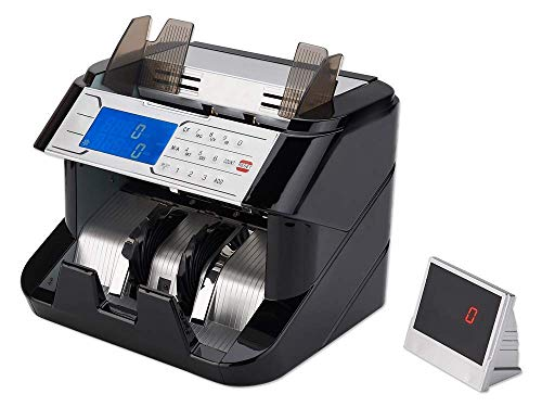Cassida Till Tally Professional & Portable Money Counting Scale Coin, Rolls & Bill Counter with Value Count, Float Function, Printing Capabilities and Optional Batteries (AAA)