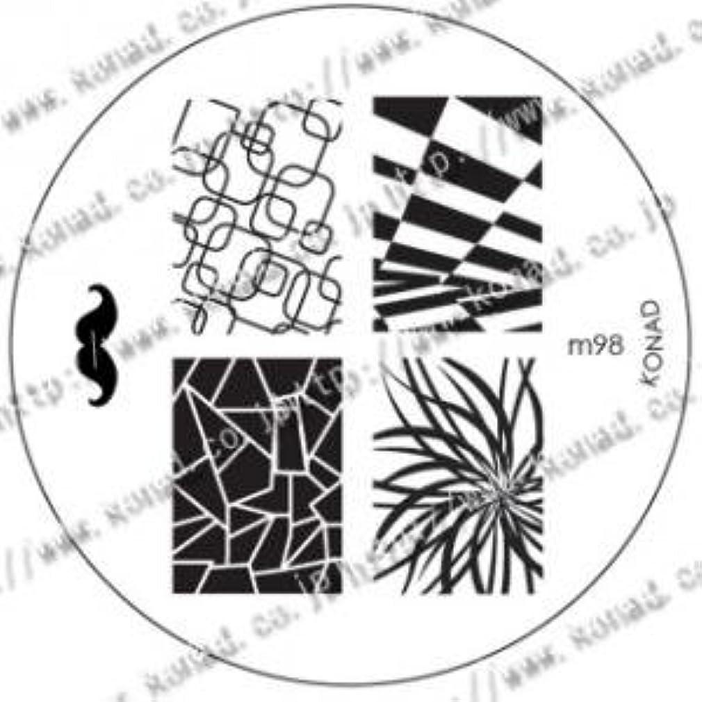 昆虫を見る経由で開梱KONAD コナド スタンピングネイルアート専用 イメージプレート m98