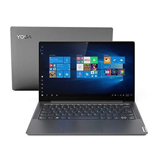 Notebook Lenovo Yoga S740 i7-1065G7 8GB 256GB SSD MX 250 2GB W10 14' Full HD 81RM0004BR Grafite