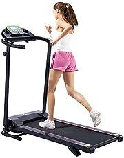 Z ZELUS Loopband, inklapbaar, 10 km/u, bluetooth treadmill met 12 programma's, loopvlak, 100 x 36 cm, hometrainer, fitnessapparaat voor thuis, kantoor, loopband met helling