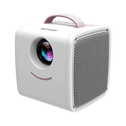 HDDFG LED portátil Q2 Mini tamaño 600 lúmenes Soporte 1080p...