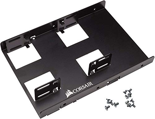 "Corsair Dual SSD Mounting Bracket 3.5"" CSSD-BRKT2,Black"