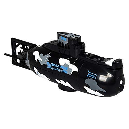 Ferngesteuertes Boot,Mini Rc Boot Für Kinder Badewanne Und Badewanne, Schwimmbad,USB Wiederaufladbares Elektrisches Ferngesteuertes U-Boot Toy Wasserdichtes Simuliertes U-Boot