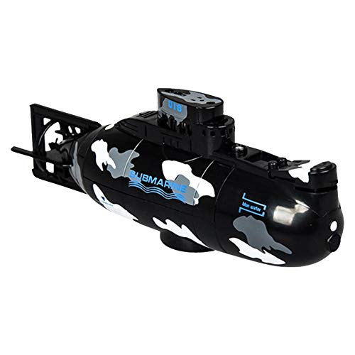 Groust Ferngesteuertes U-Boot, Mini RC U-Boot Ferngesteuerte Boote Spielzeuge Mit Fernsteuerung, Wiederaufladbares Elektrisches Spielzeugboot, Elektrische Simulation U-Boot-Spielzeug Für Kinder