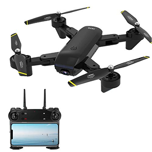 DAN DISCOUNTS RC Drohne, SG700D Drohne mit Kamera 4K WiFi Übertragung, Faltbarer RC-Quadcopter mit Gestensteuerung, GPS Auto Return Indoor Outdoor Quadrocopter Training