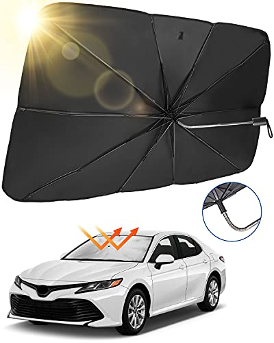 JoyTutus Car Sun Shade for Windshield 59x33-inch Only $9.99 (Retail $19.99)