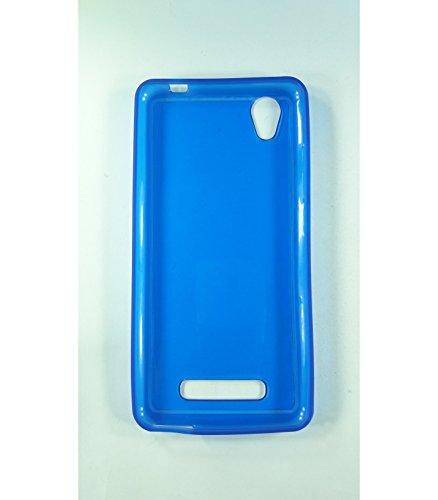 Funda de gel TPU carcasa protectora silicona para ZTE Blade A452 Azul