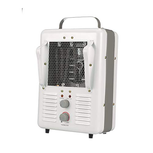 TPI Corporation 188TASA Fan Forced Portable Heater – Milk House Style Fan, 1500/1300W, 120V, Durable Winter Care Accessory. Genuine Heating Equipment