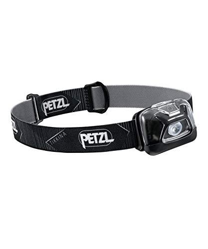 PETZL, TIKKINA Headlamp, 250 Lumens, Standard Lighting, Black