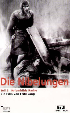 Die Nibelungen - Teil 2: Kriemhilds Rache [VHS]