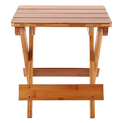 Plegable Heces Sólido Madera Pequeña Heces Cuadrado De madera Heces Portátil Mueble Para Cámping Pescar Etc.