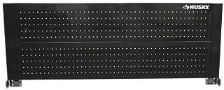 Husky D6TC09002 52 Black Heavy-duty 21-gauge Steel Construction Easy to Assemble Tool Cabinet Pegboard by Husky