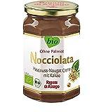 Rigoni di Asiago Nocciolata - Haselnusscreme mit Kakao - Das Original aus Italien - Cremig-leichter Bio-Brotaufstrich, 1er Pack (1 x 700 g) -