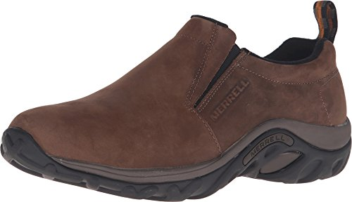 Merrell Jungle Moc Nubuck Mocasines para hombre, color marrón, talla 42 EU