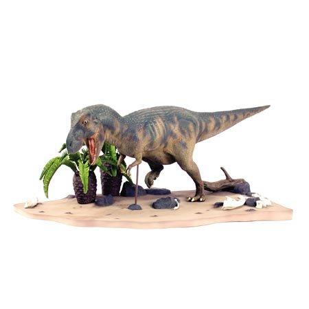 タミヤ 1/35 恐竜世界シリーズ No.02 ティラノサウルス 情景セット プラモデル 60102