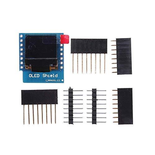 JCCOZ-URG 0.66 Inch OLED Display Shield For D1 Miniskirt 64X48 IIC I2C for Arduino URG