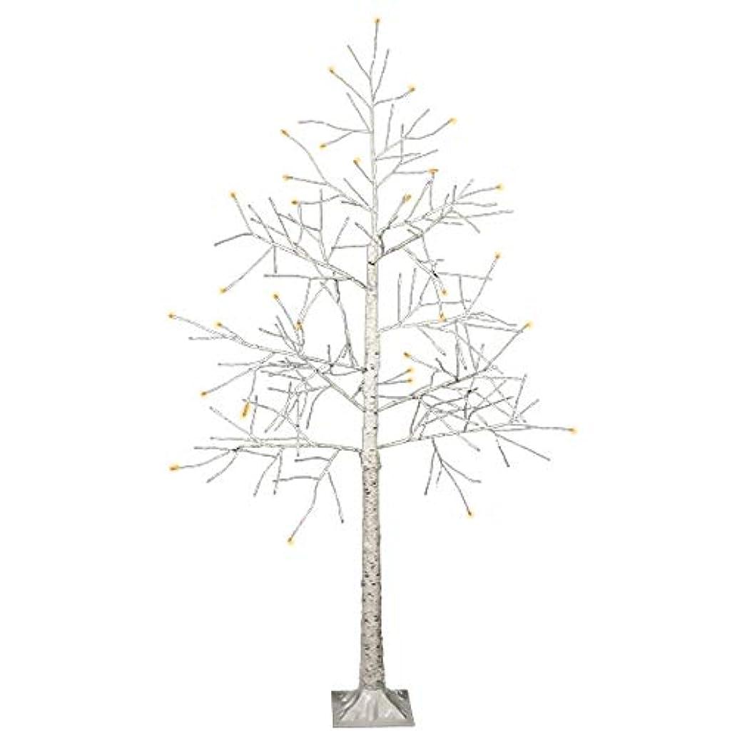 更新年齢コースクリスマスツリー LED ブランチツリー ホワイト (180cm)