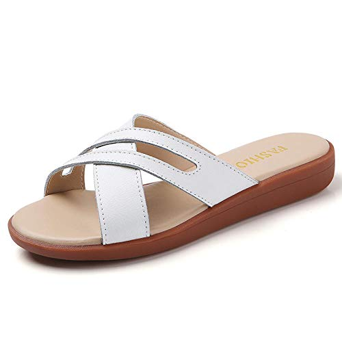 Kirin-1 Zapatillas De Casa para Mujer Verano,Zapatillas De Novia,Zapatillas De SáNdalo De...