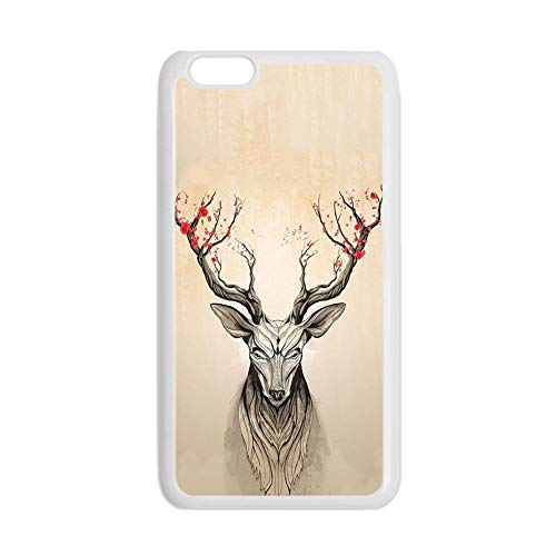 para Hombre Compatible con iPhone 5 5S Se Durabilidad Imprimir con Deer 1 Teléfono Carcasa Rígida De Plástico Choose Design 121-2