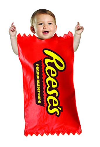 Hershey's Reese's Chocolate Peanut Butter Cups Candy Baby Bunting Size 3-9 Mos
