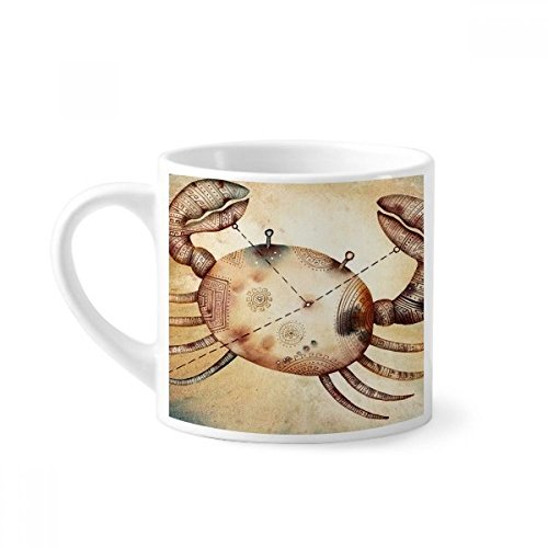 DIYthinker juni juli kanker sterrenbeeld dierenriem mini koffiemok wit aardewerk keramische beker met handvat 6oz gift