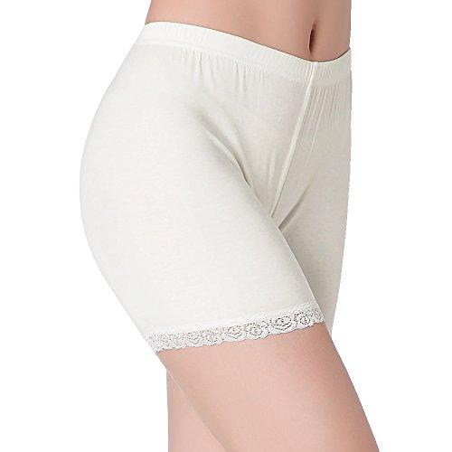CnlanRow Under Skirt Anti Chafing Thigh Slip Shorts Leggings for Women Safety Short Pants