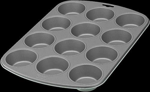 Kaiser EverCream Colors Muffin Backblech für 12 Muffins, Muffinform 38 x 27 cm,...