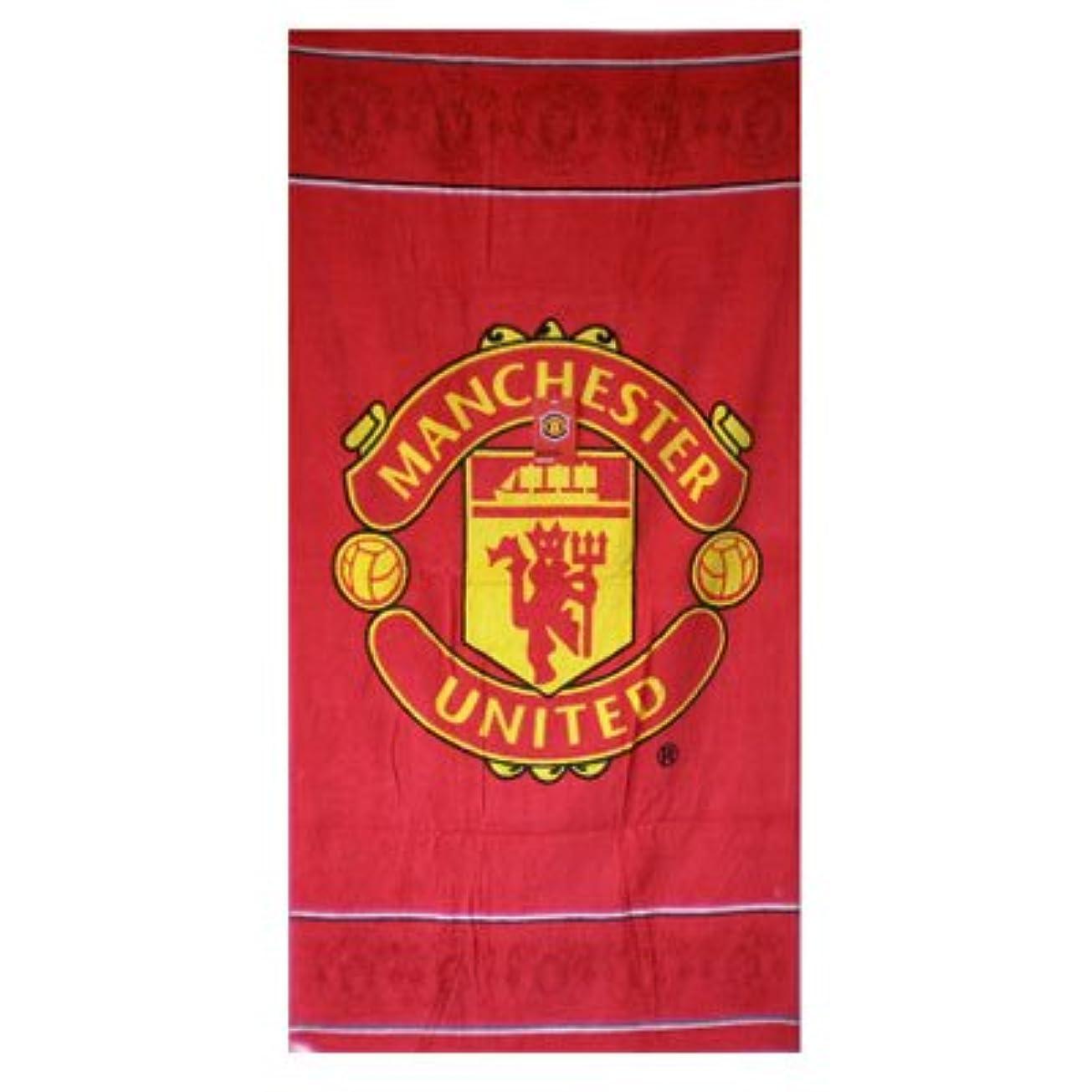 シャット代数的征服者Manchester Unitedビーチタオル