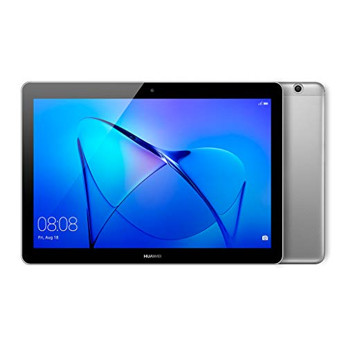Huawei MediaPad T3 WiFi/LTE tablet-PC (hoogwaardige metalen behuizing, Quad-Core processor, 2 GB RAM, 16 GB intern geheugen, Android, EMUI) grijs LTE 10 inch Grau (Space Grey)
